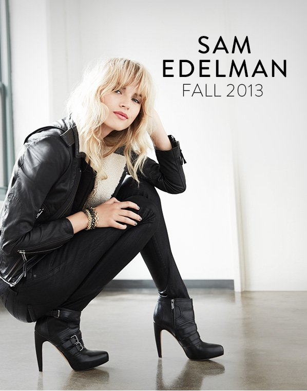 SAM EDELMAN FALL 2013