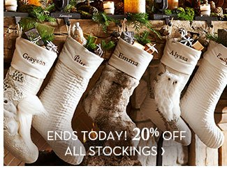 ENDS TODAY! 20% OFF ALL STOCKINGS
