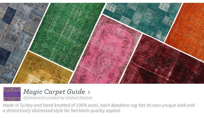Magic Carpet Guide
