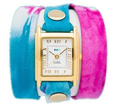 Malibu Blue Tie-Dye Wrap