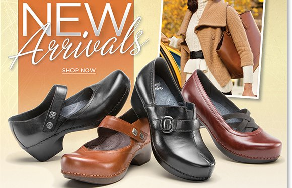 Dress up in the comfort of the NEW Dansko fall arrivals! Featuring the Ventura Collection, enjoy lightweight comfort and style. Plus, shop the exclusive Pink Scribble Professional and more great styles! Shop now to find the best selection online and in stores at The Walking Company.