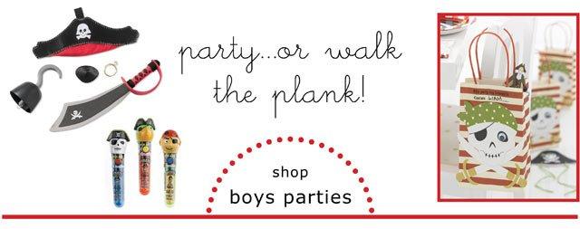 boys parties