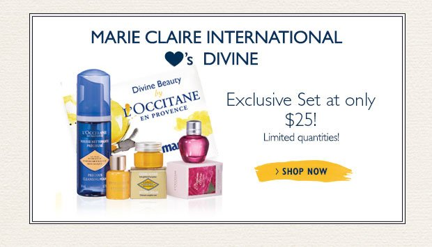 Marie Claire International Heart's Divine