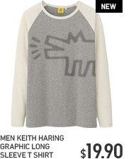 MEN KEITH HARING T-SHIRT