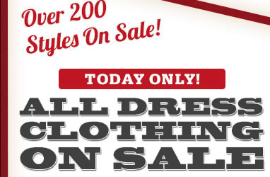 All Dress Clothing on Sale