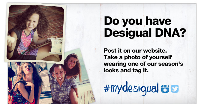 Do you have Desigual DNA?