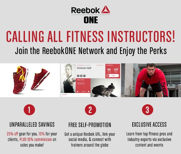 CALLING ALL FITNESS INSTRUCTORS!