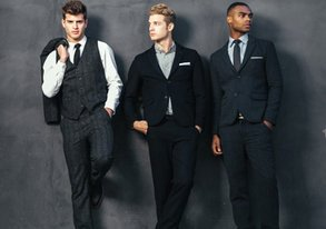 Shop Get the Fall Look: 3-Piece Suiting