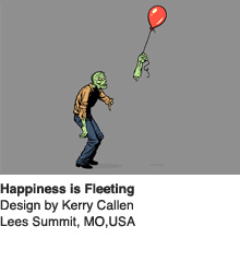 Happiness is Fleeting