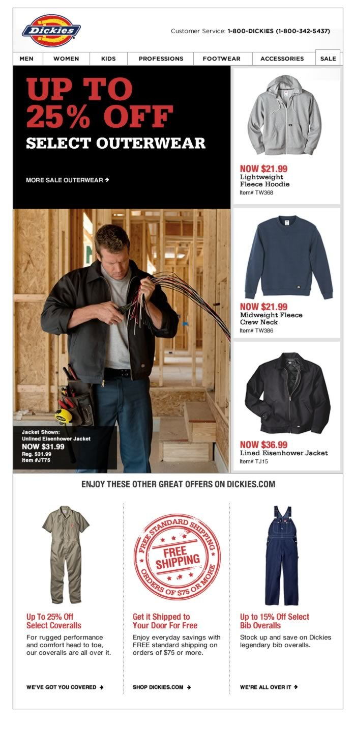 Up to 25% Off Outerwear