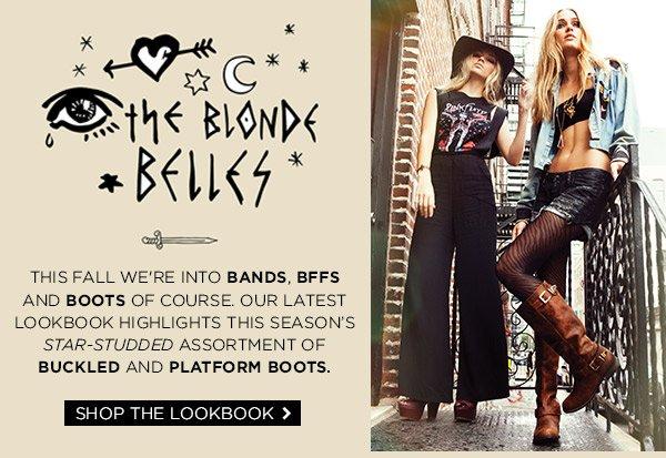 The Blonde Belles! Shop The Lookbook