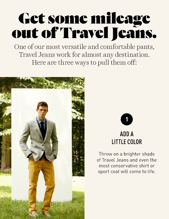 Travel Jeans