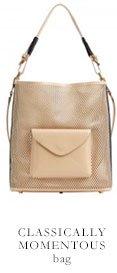 CLASSICALLY MOMENTOUS bag