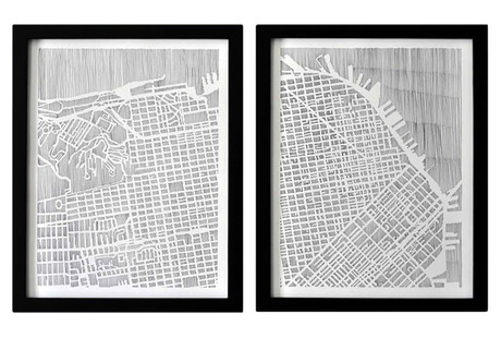 StudioKMO Map Prints