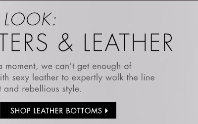 Shop Leather Bottoms