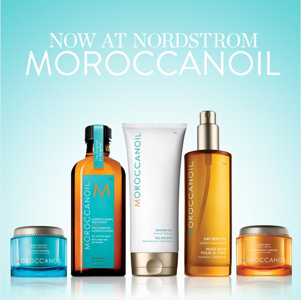 NOW AT NORDSTROM - MOROCCANOIL