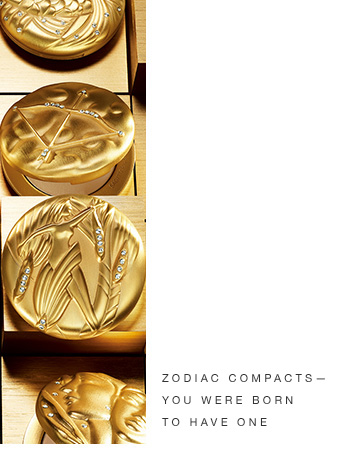 Zodiac Compacts— You were born to have one.