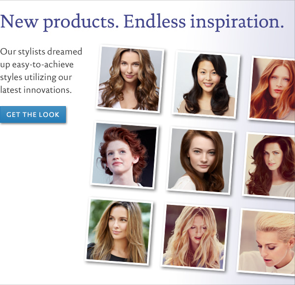 New products. Endless inspiration.
