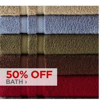 50% OFF BATH ›