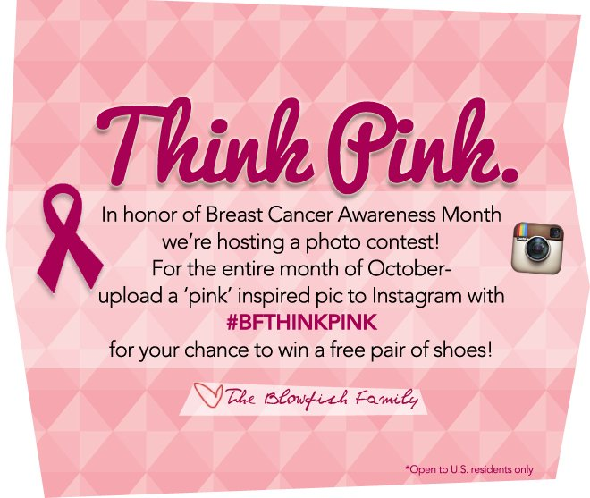 Think Pink & Enter to Win!