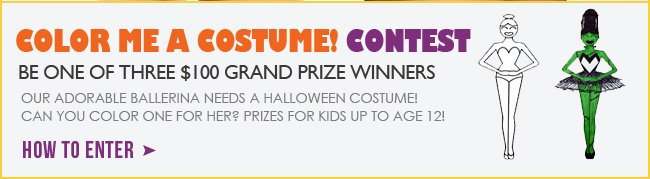 Enter the Costume Contest