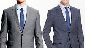 Tommy Hilfiger and Hugo Boss Suits