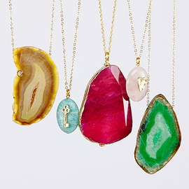 Style Statement: Drusy & Stone Jewelry