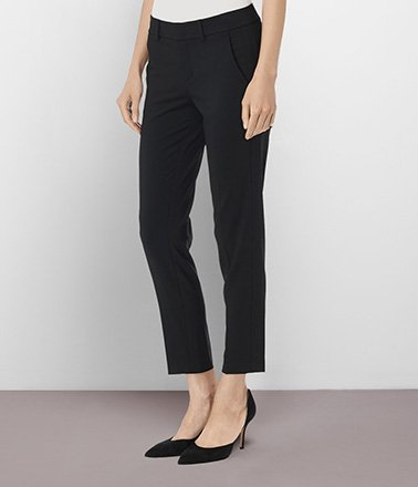 The Side Strapping Trouser
