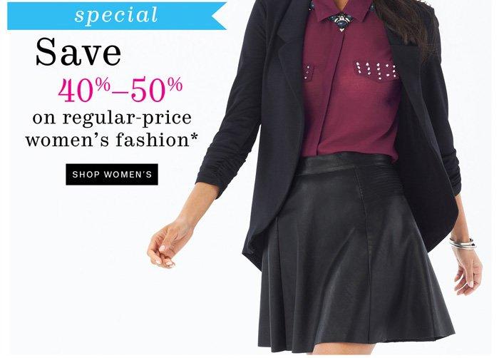 Shop Women's*