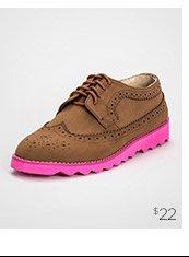 Penny Sue Lincoln Wingtip Sneakers