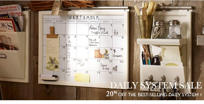 DAILY SYSTEM SALE - 20% OFF THE BEST-SELLING DAILY SYSTEM