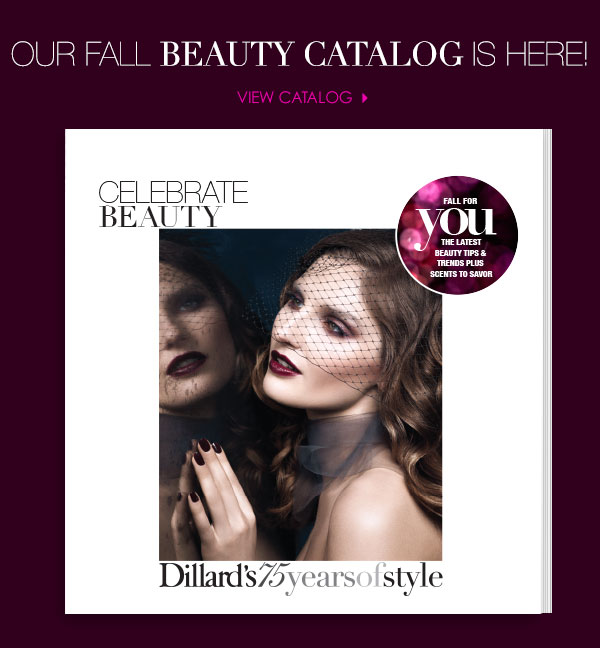 Our fall beauty catalog is here!