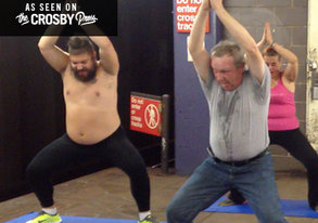 Shop Watch The Fat Jew Teach Bikram Yoga To The Homeless