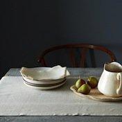 Simple Linen Table Runner