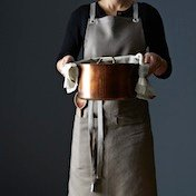 Pocketed Kitchen Apron