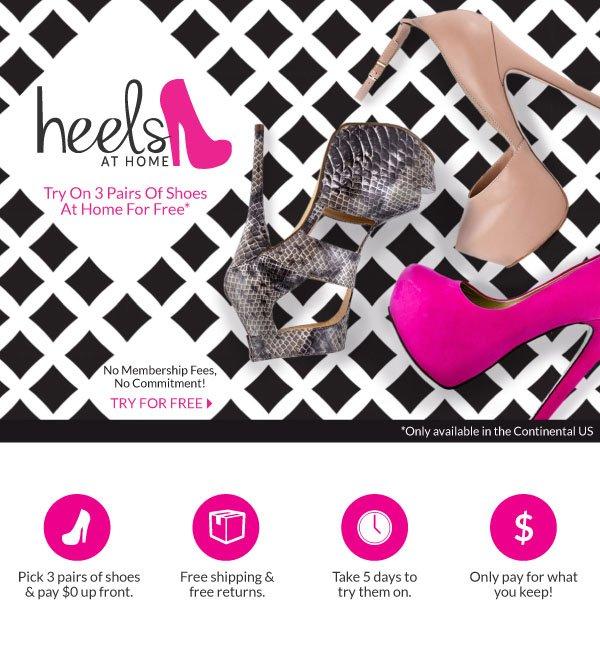 Introducing Heels At Home