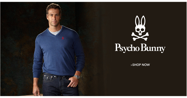 PSYCHO BUNNY | SHOP NOW