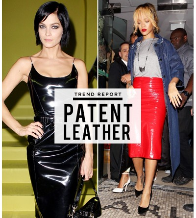 Pantent Leather: It's Not Just For Shoes!
