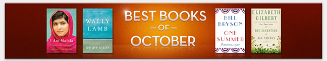 Best Books of October