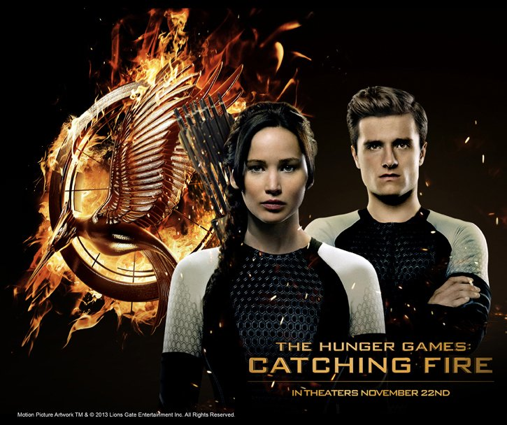 THE HUNGER GAMES: CATCHING FIRE - IN THEATERS NOVEMBER 22ND