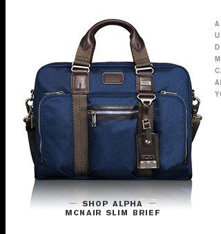Alpha McNair Slim Brief - Shop Now