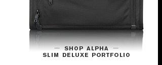 Alpha Slim Deluxe Portfolio - Shop Now
