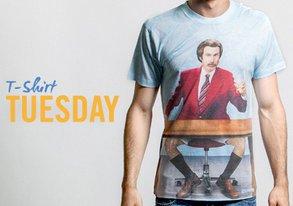 Shop T-Shirt Tuesday ft. Pop Culture Tees