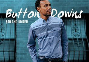 Shop Long Sleeve Button-Downs Under $40