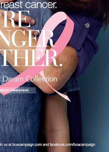 Evelyn Lauder Dream Collection Let's defeat breast cancer. We're stronger together.   SUPPORT BREAST CANCER AWARENESS »