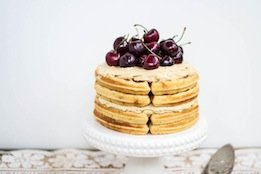 Brown Butter Waffle Cake