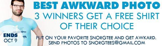 Awkward Photo Contest