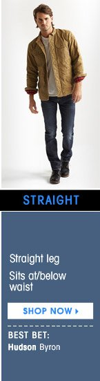 STRAIGHT. SHOP NOW