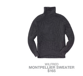 Wilfred Montpellier Sweater