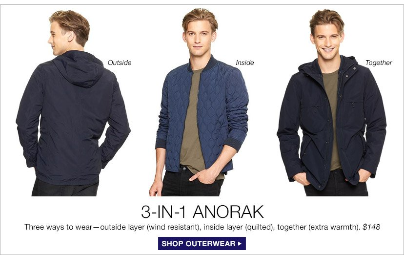 3-IN-1 ANORAK | SHOP OUTERWEAR